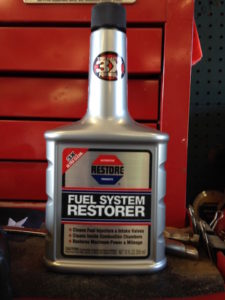 fuel system restorer treatment can